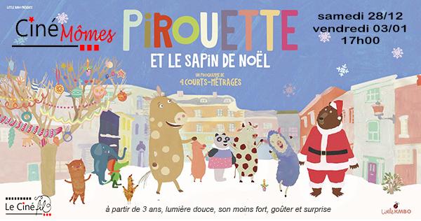 Photo du film Pirouette et le sapin de Noël